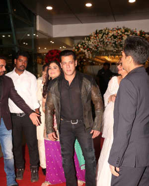 Salman Khan - Photos: Azhar Morani & Tanya Seth Wedding Reception