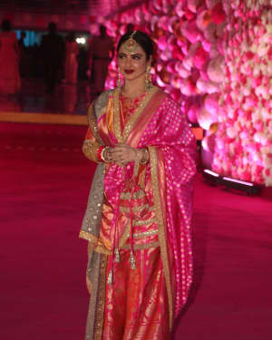 Rekha - Photos: Azhar Morani & Tanya Seth Wedding Reception