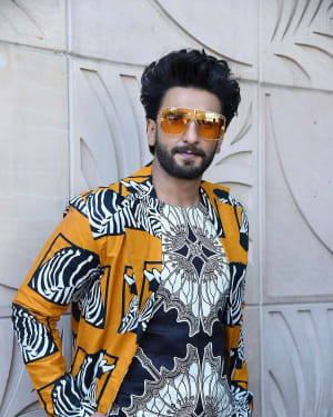 Ranveer Singh - Photos: Interview With Gully Boy Film Team