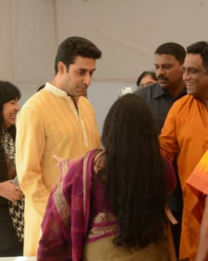 Photos: Sarswati Puja at Anurag Basu's House