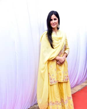 Katrina Kaif - Photos: Sarswati Puja at Anurag Basu's House