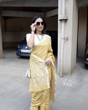Sayani Gupta - Photos: Sarswati Puja at Anurag Basu's House