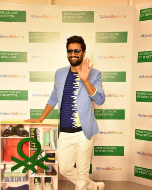 Photos: Vicky Kaushal at Store launch of United Colors of Benetton | Picture 1626401