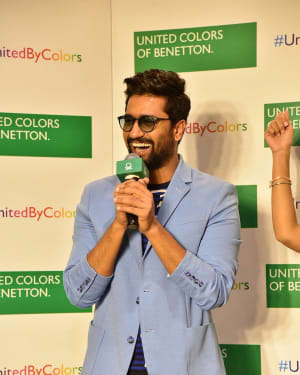 Photos: Vicky Kaushal at Store launch of United Colors of Benetton | Picture 1626403