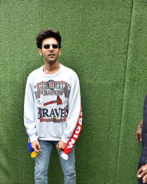 Kartik Aaryan - Photos: Launch Of New Song 'Photo' From Film Luka Chuppi
