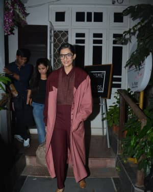 Photos: Sonam Kapoor Spotted at Krome Studio