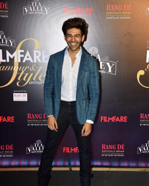 Kartik Aaryan - Photos: Red Carpet Of Filmfare Glamour and Style Awards 2019