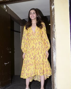 Alia Bhatt - Photos: Screening of GullyBoy at PVR Juhu | Picture 1627078