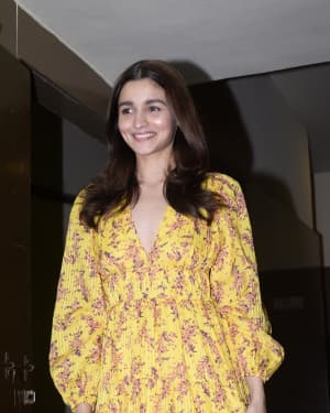 Alia Bhatt - Photos: Screening of GullyBoy at PVR Juhu | Picture 1627082