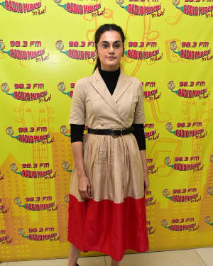Taapsee Pannu - Photos: Badla Film Song Launch at Radio Mirchi