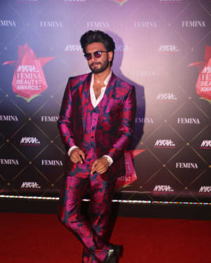 Ranveer Singh - Photos: Nykaa Femina Beauty Awards 2019