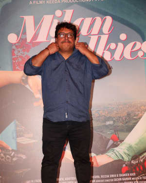 Photos: Trailer launch of film Milan Talkies at Gaiety Cinemas