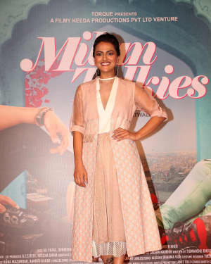 Shraddha Srinath - Photos: Trailer launch of film Milan Talkies at Gaiety Cinemas