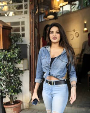 Photos: Nidhi Agarwal Spotted at Fable