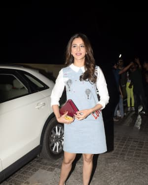 Rakul Preet Singh - Photos: Screening of Luka Chuppi at PVR