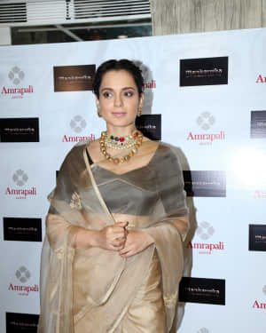 Photos: Kangana Ranaut Unveil The First Look Of Amrapali X Manikarnika Jewellery Collection