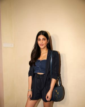 Shruti Haasan - Photos: Screening Of Telugu Film F2 at Cinepolis Andheri