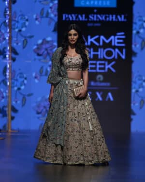 Mouni Roy - Payal Singhal Show - Lakme Fashion Week 2019 Day 3