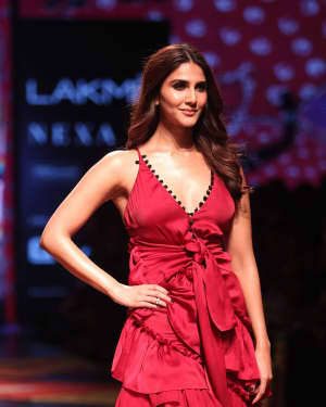 Vaani Kapoor - Shivan & Narresh Show - Lakme Fashion Week 2019 Day 4