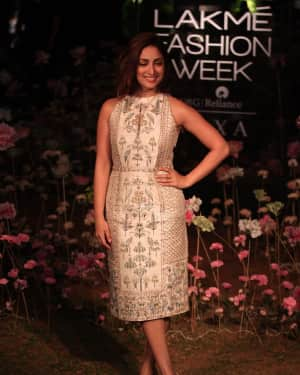 Yami Gautam - Anita Dongre Fashion Show - Lakme Fashion Week 2019 Day 2