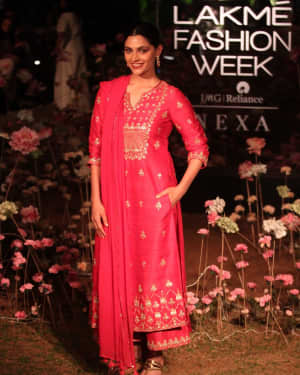 Saiyami Kher - Anita Dongre Fashion Show - Lakme Fashion Week 2019 Day 2