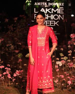 Saiyami Kher - Anita Dongre Fashion Show - Lakme Fashion Week 2019 Day 2