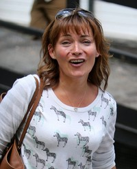 Lorraine Kelly - Celebrities at the ITV Studios