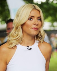 Holly Willoughby - Celebrities at the ITV Studios