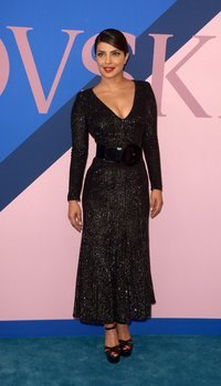 Priyanka Chopra - 2017 CFDA Awards at Hammerstein Ballroom