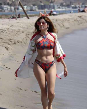 Blanca Blanco in Bikini on the Beach in Malibu   Picture 1531054