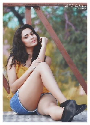 Abhishek SN @ Sangeetha Bhat Latest Hot Photoshoot