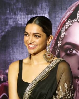 In Pics: Deepika Padukone At 3D Trailer Launch Of Film Padmavati