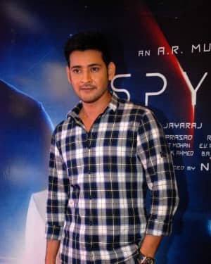 Mahesh Babu - Spyder Press Meet in Bangalore Pictures | Picture 1531161