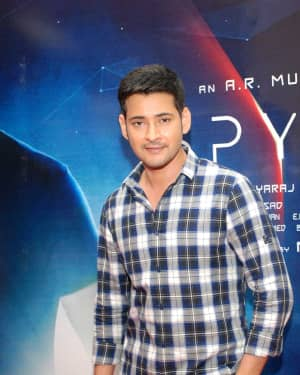 Mahesh Babu - Spyder Press Meet in Bangalore Pictures