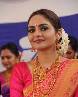 Madhubala (Actress) - Seetharama Kalyana Film Press Meet Photos