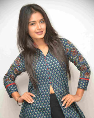 Priyanka Jain - Mddhuram Milanam Mounam Film Press Meet Photos