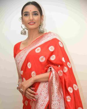 Ragini Dwivedi Photos at The Terrorist Film Press Meet