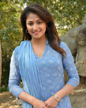Haripriya - Bell Bottom Kannada Film Press Meet Photos