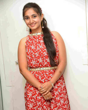 Pooja Rashinkar - Bharathipura Cross Short Film Press Meet Photos