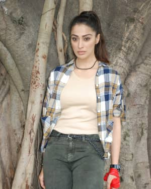 Raai Laxmi Photos at Jaansi Film Muhurtha
