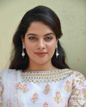 Tanya Hope Photos at Amar Film Pooja and Press Meet