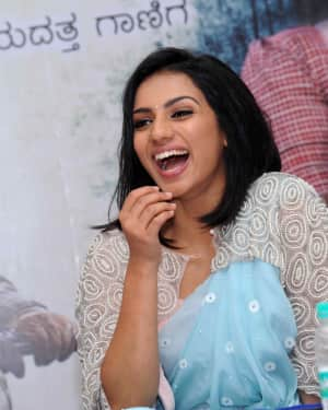 Sruthi Hariharan - Ambi Ning Vayassaytho Film Press Meet Photos