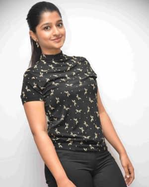 Aishani Shetty - Naduve Antaravirali Film Press Meet Photos