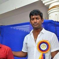 Vishal Krishna - Tamil Film Producers Council Election 2017 Photos