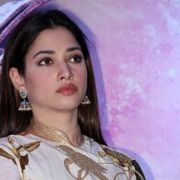 Actress Tamanna Stills at Baahubali 2 Press Meet