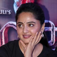 Anushka Shetty at Baahubali 2 Press Meet Pics