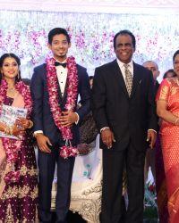 Rajinikanth - Actor Vishal's Sister Aishwarya Wedding Reception Photos