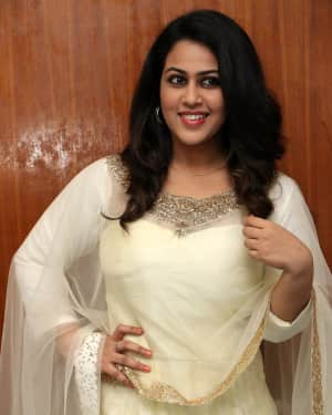 Actress Diana Champika at Annadurai Press Meet Photos