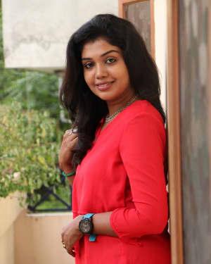 Actress Riythvika Photos at Torchlight Press Meet