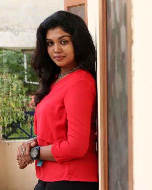 Actress Riythvika Photos at Torchlight Press Meet | Picture 1550465